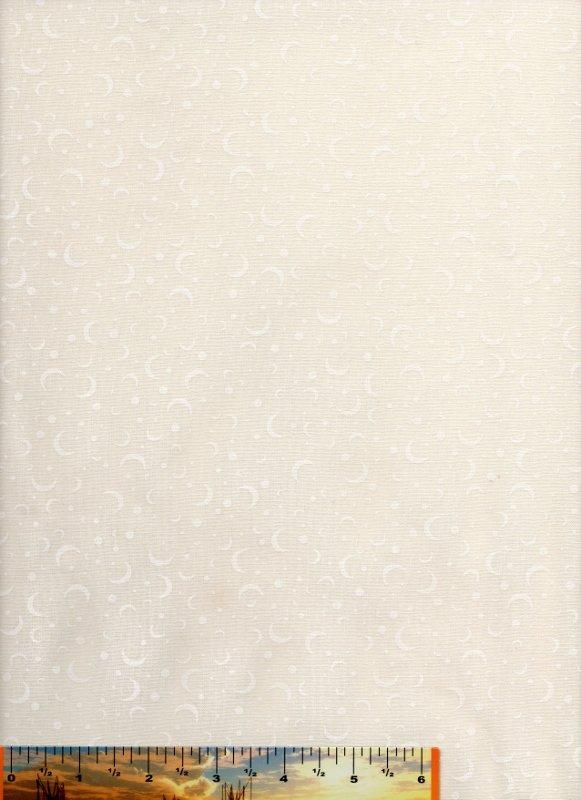 Many Moons White on Cream (WOC)