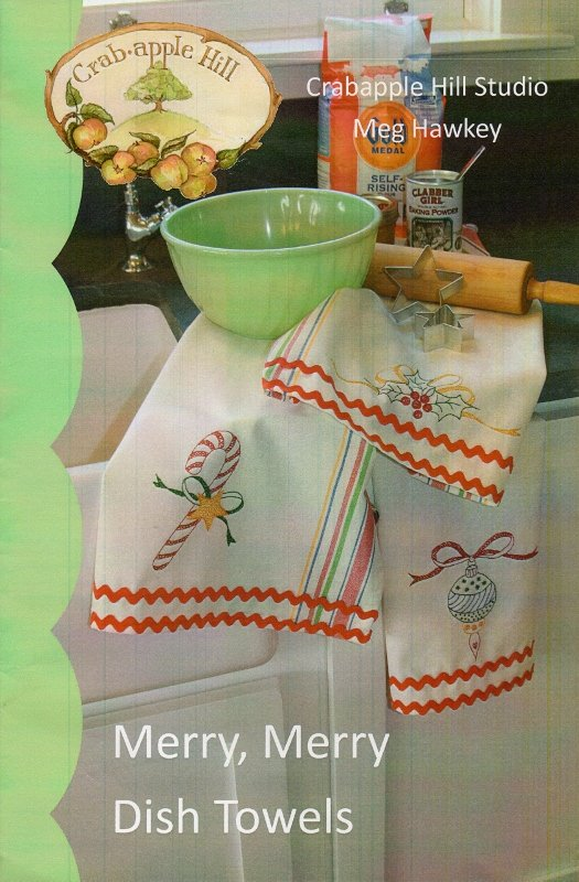 Merry, Merry Dish Towel Kit