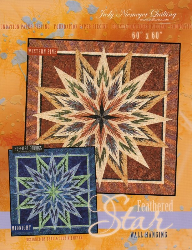Feathered Star Quilt Kit and Pattern