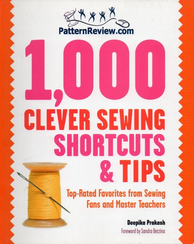 1,000 Clever Sewing Shortcuts and Tips Book
