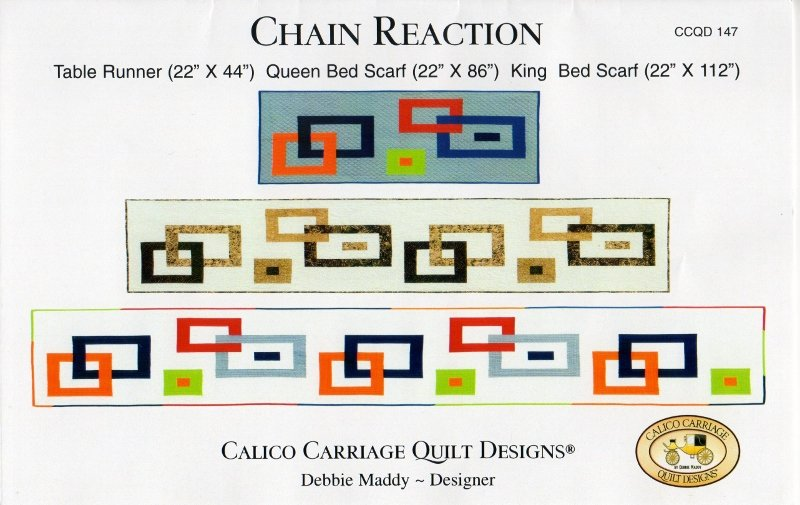 Chain Reaction Quilt Kit or Pattern