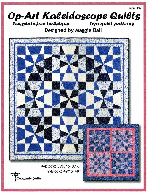 Op-Art Kaleidoscope Quilts