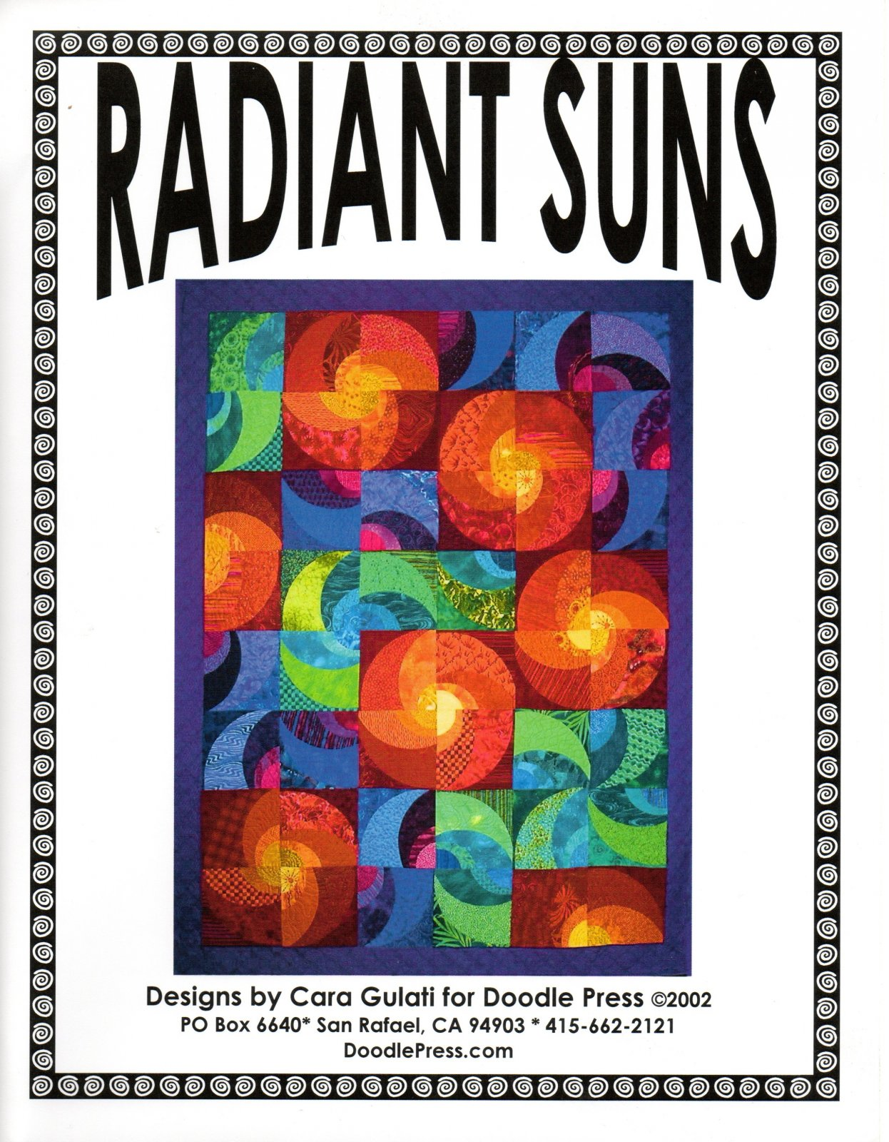 Radiant Suns Pattern + Templates