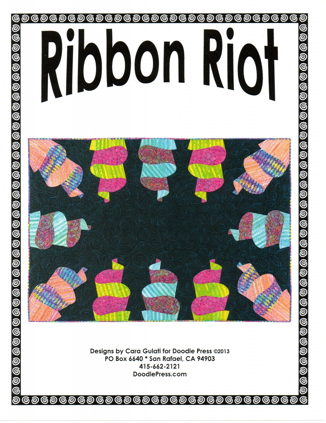 Ribbon Riot Quilt Pattern