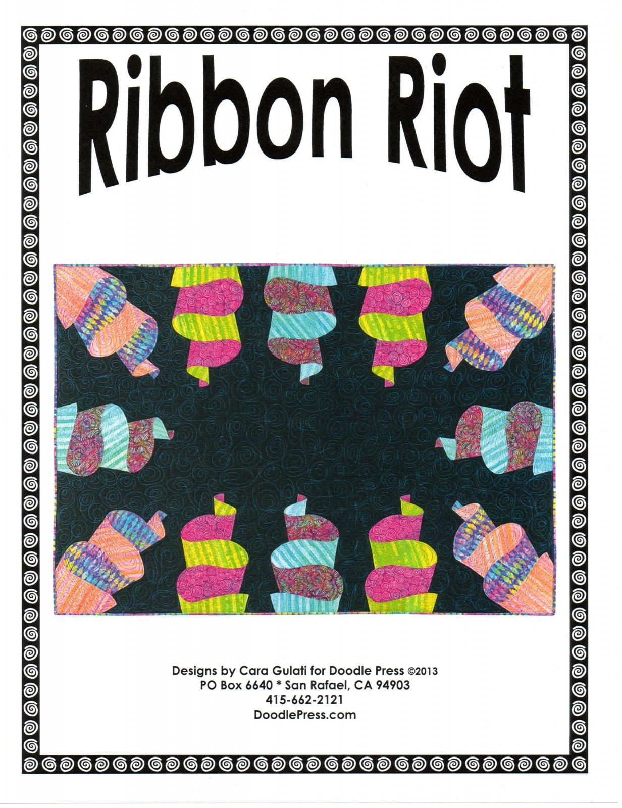 Ribbon Riot Quilt Pattern