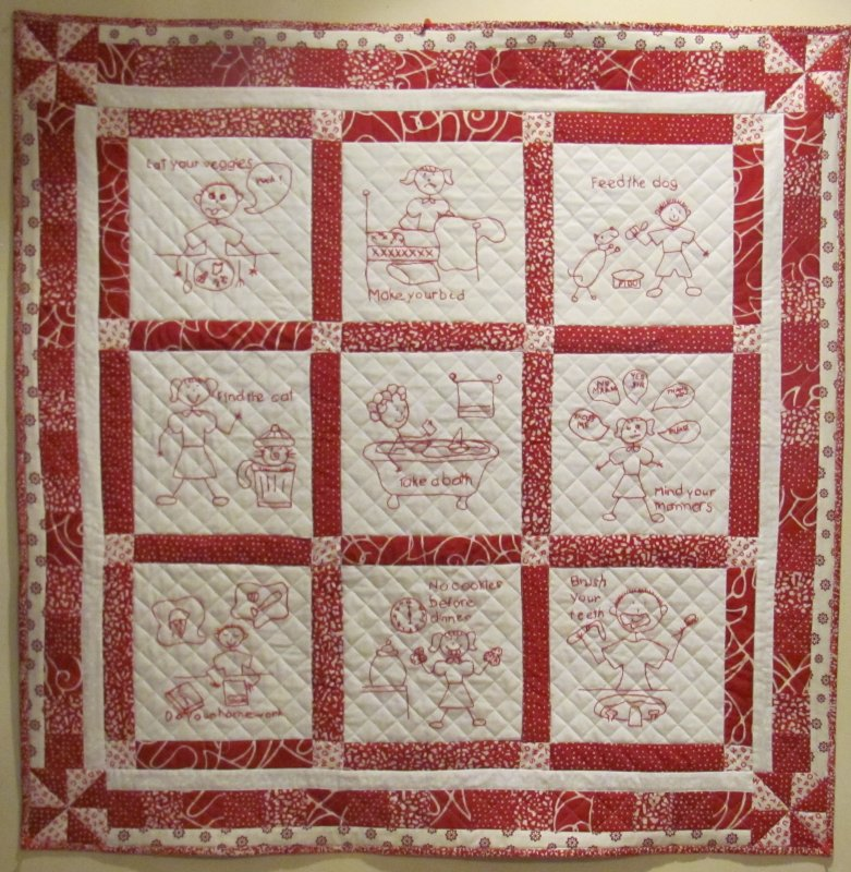 Mind Your Mama!  Block of the Month
