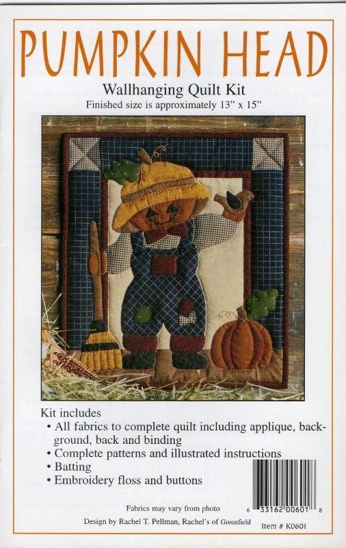 Pumpkin Head Wall Hanging Kit