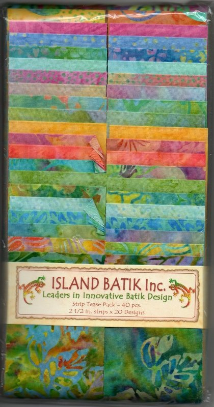Island Batik Strip Tease Pack - Pretty Sweet
