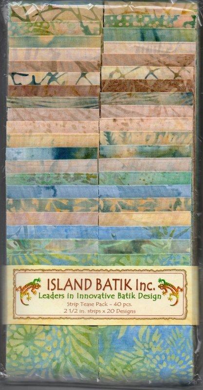 Island Batik Strip Tease Pack - Spring Melt