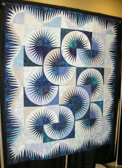 Japanese Fan Quilt Pattern And Kit