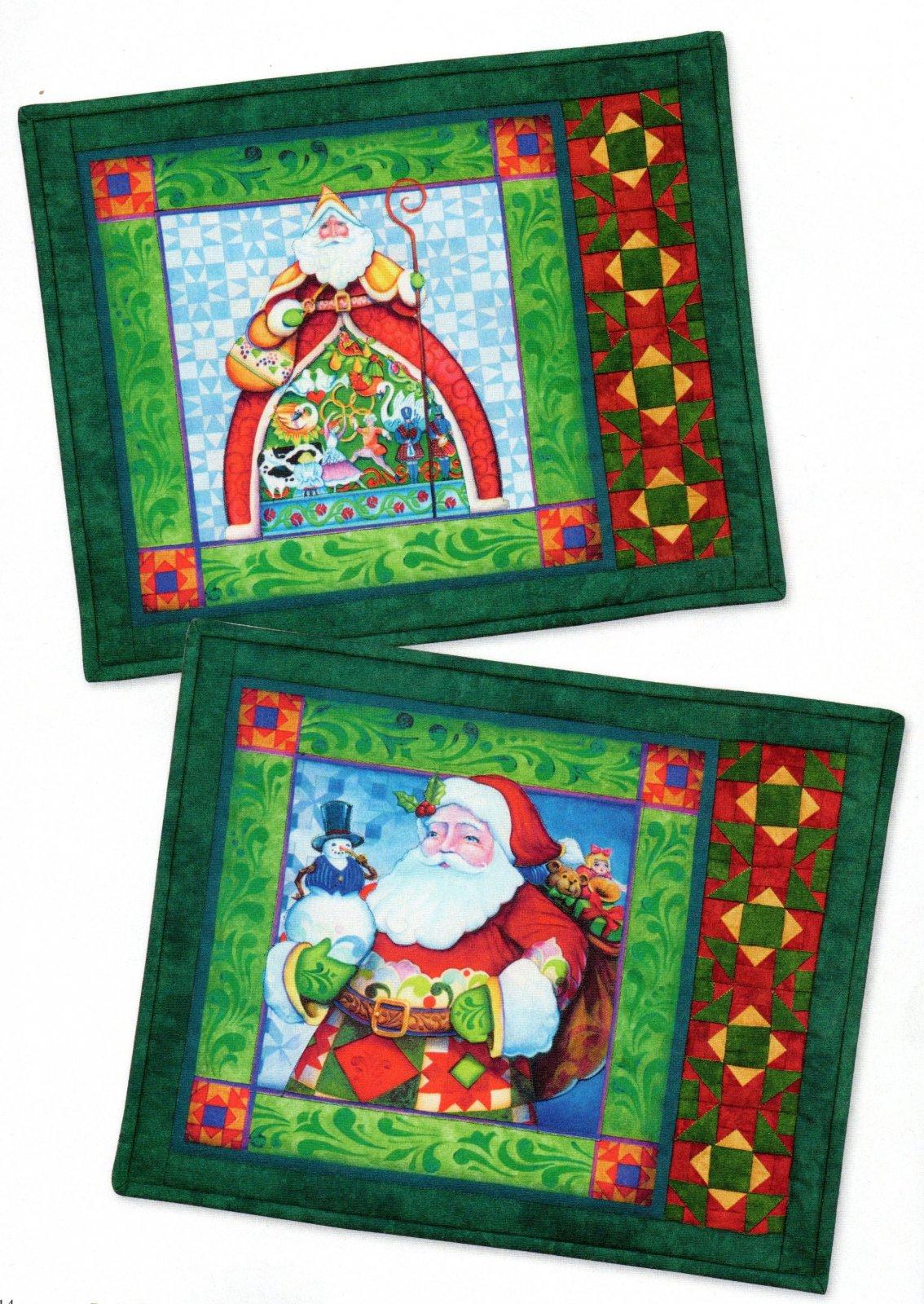 Santa Placemat Kit