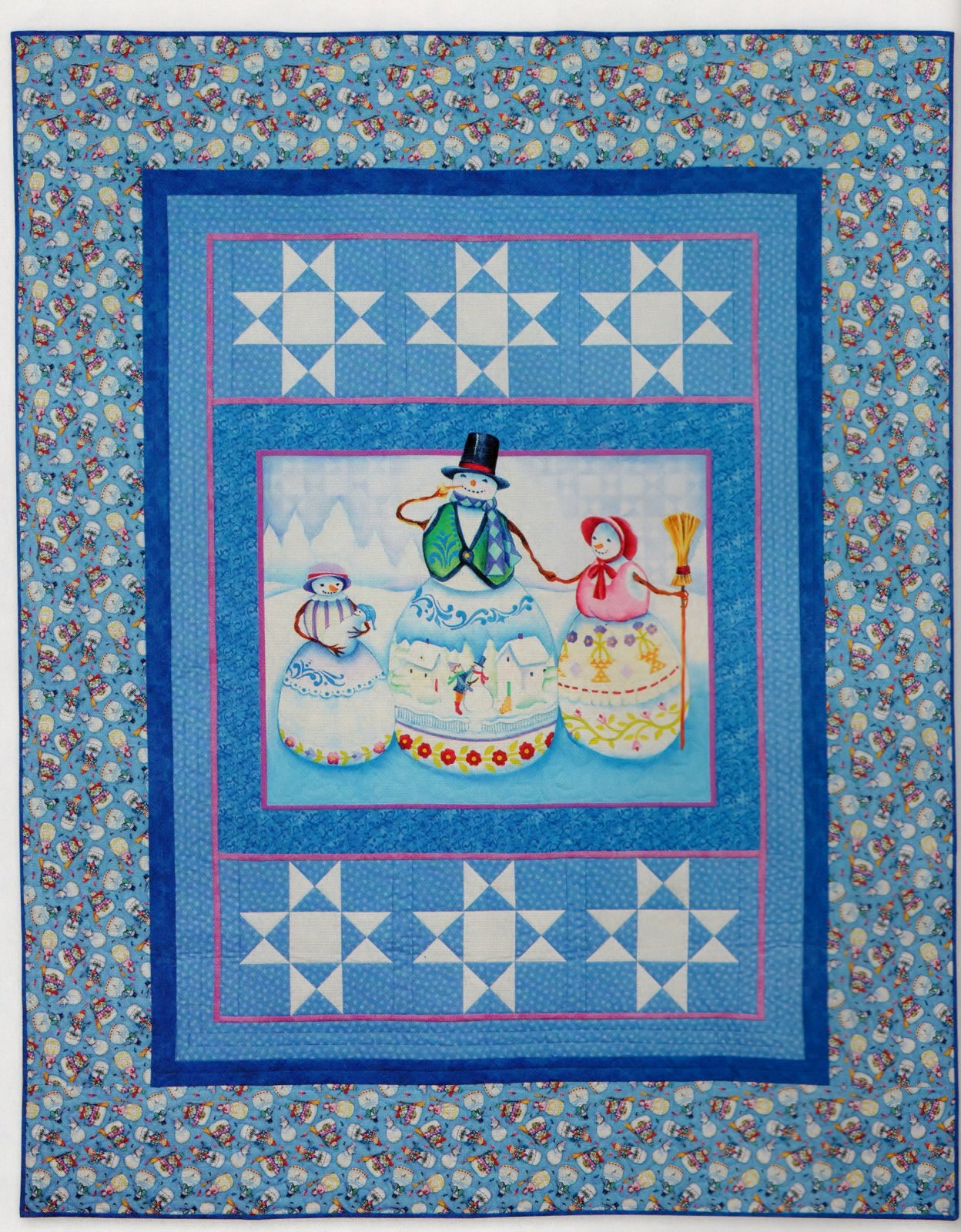 Frosty Family Quilt Kit
