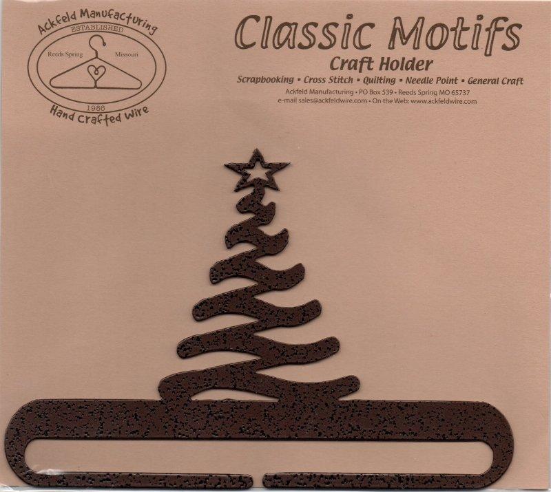 Ackfeld Manufacturing 6 Inch Modern Christmas Tree Split Hanger