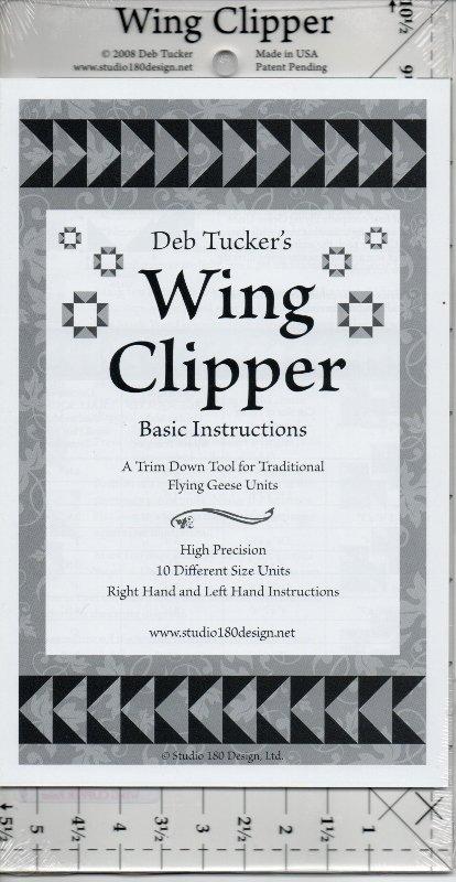 Wing Clipper Ruler