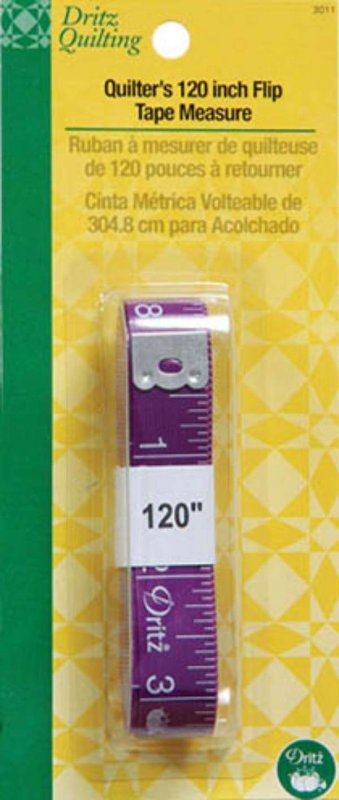 Quilter's 120 Inch Purple Flip Tape Measure