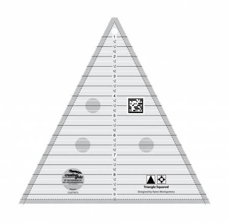 Creative Grids Triangle Squared Ruler