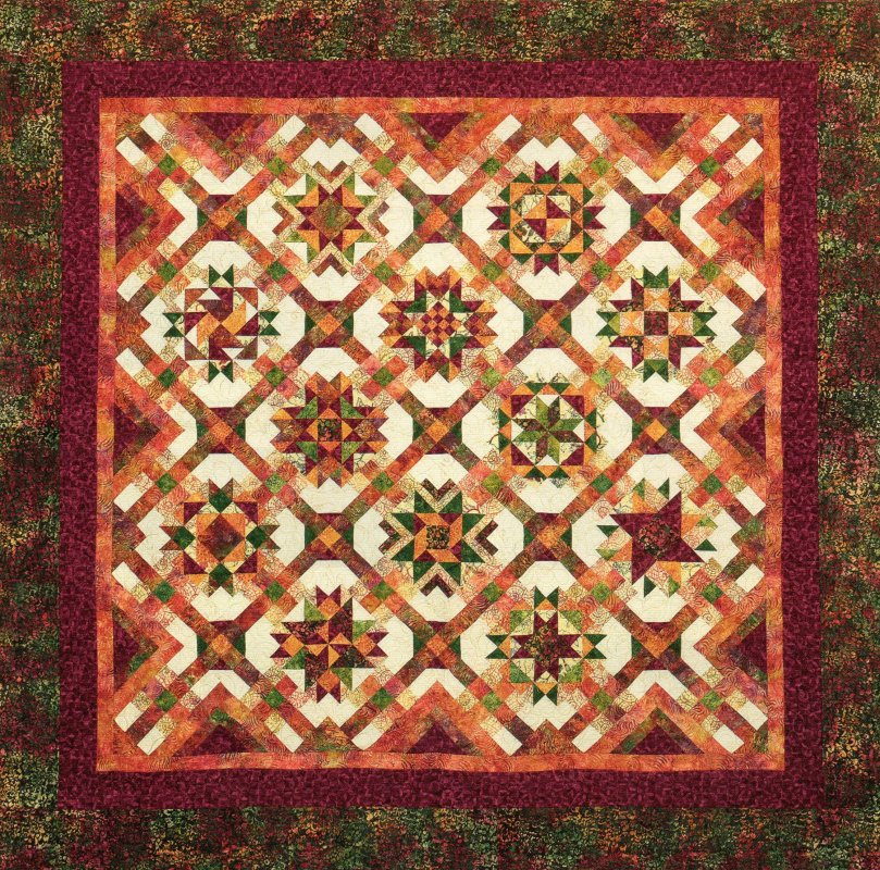 Mulberry Stars Block of the Month
