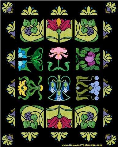 Deco Garden Fabric Kit
