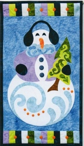 Frosty Fellow Wall Hanging
