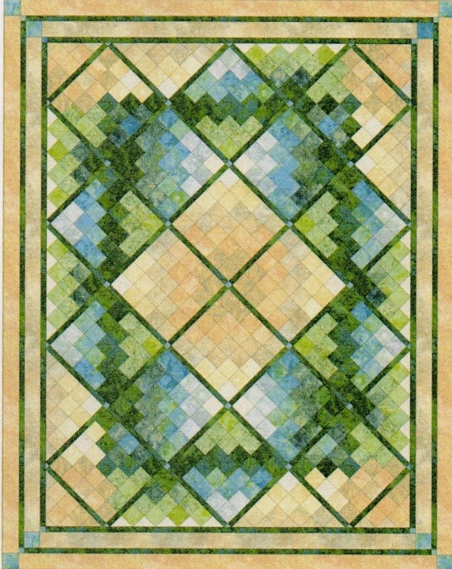 Oasis Quilt Kit or Pattern