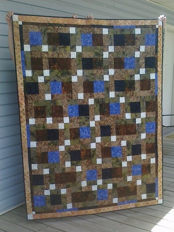 A Quick Delivery Quilt Pattern