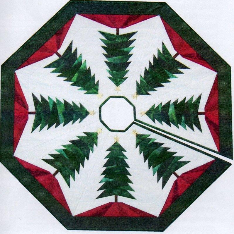 Trim The Tree Skirt Pattern