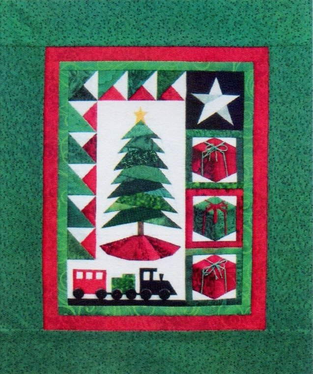 Trim The Tree II  Wall Hanging