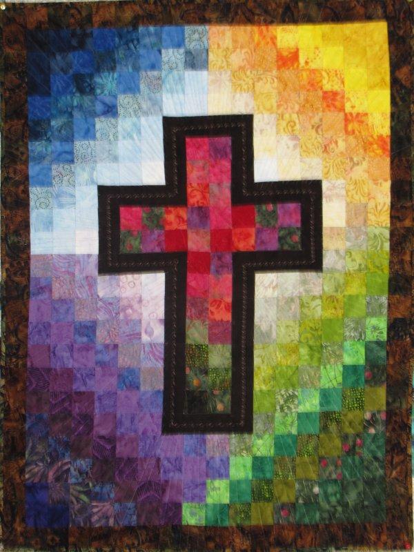 Watercolor Cross Wall Hanging Kit