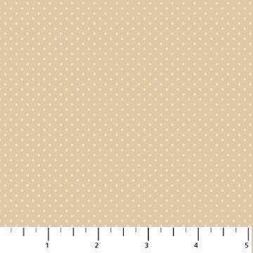 1009 31 tan dots Northcott