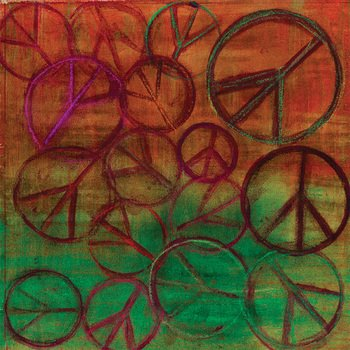 114-04-3 Peace Bomb Mural by Frond Designs