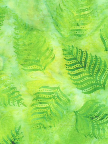 14027Q-Lime leaves Jacqueline de Jonge Anthology Batiks