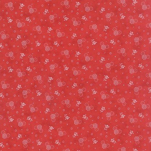 14784-25 Red Floral Austin-Bluebird Moda