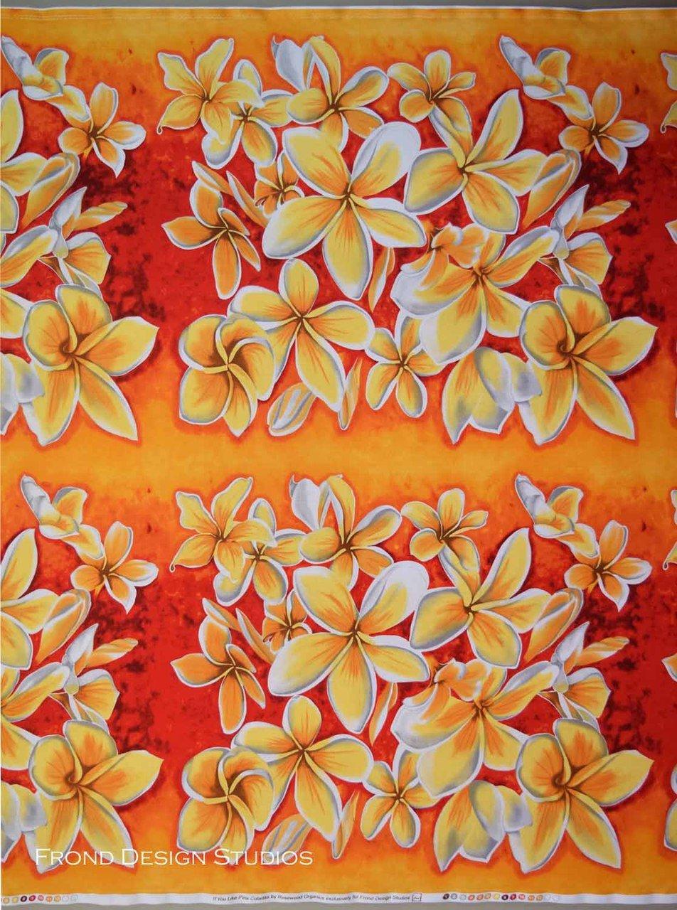 152-0401 Plumeria Pina Coladas Frond Design Studios