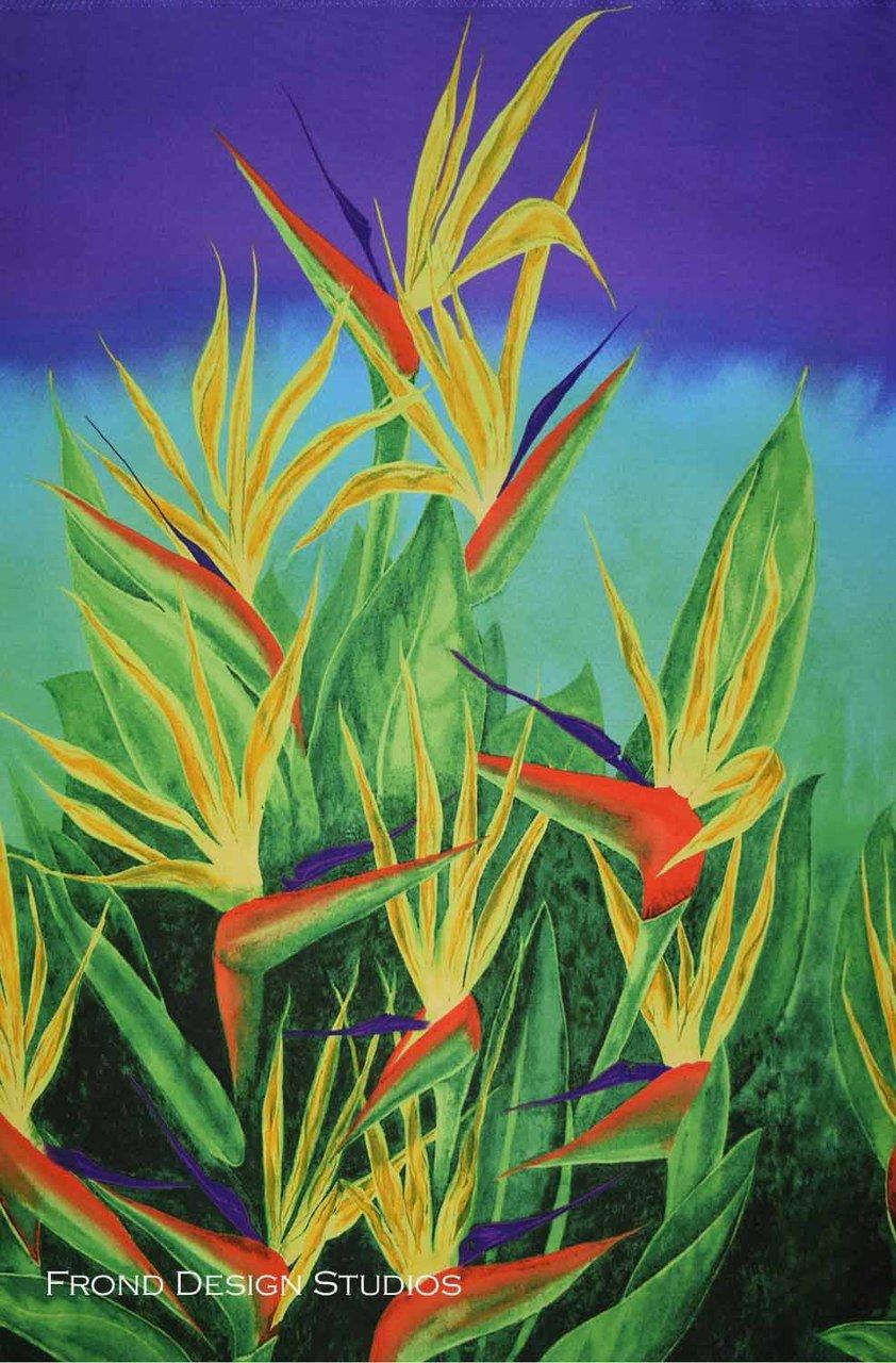 152-0502 Birds of Paradise-Shine Pina Coladas Frond Design Studios