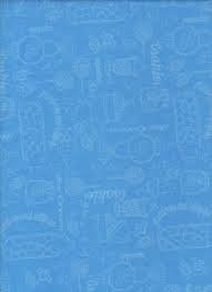 1649-22900-B Blue Gumdrops and Lollipops Quilting Treasures