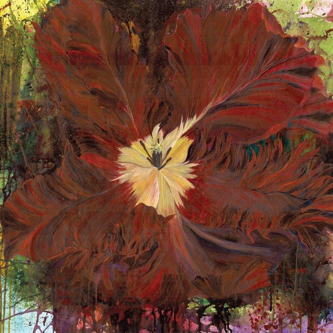 172-0101 Parrot Tulip Panel Lola Frond Design Studios