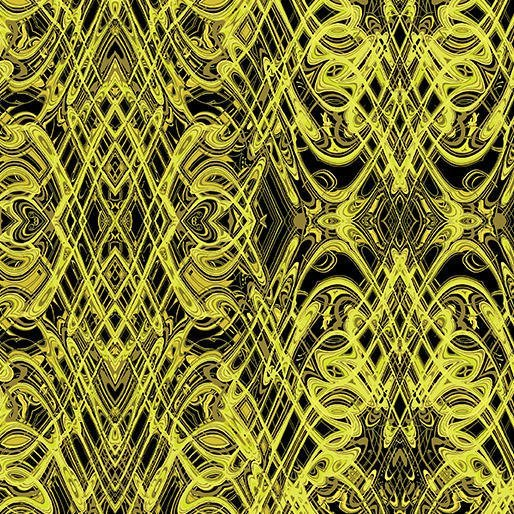 1774-44 Flash Dance Lime Kismet Benartex