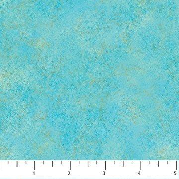 20254M-68 Turq Artisian Shimmer Blue Lagoon