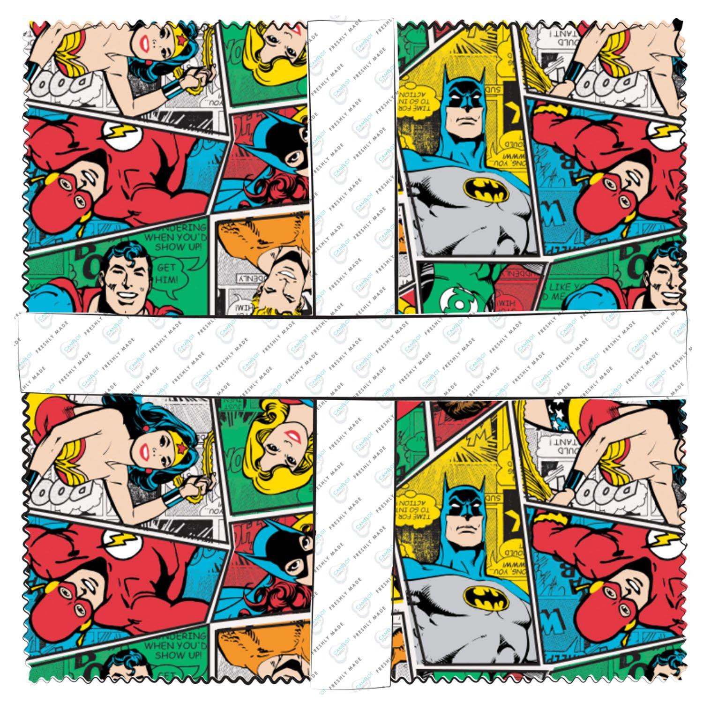 23400612squ  DC Comics II 10 inch Squares (42 pcs)
