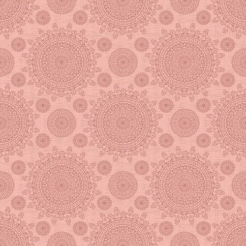 24163-C Coral Lace Medallions by Quilting Treasures