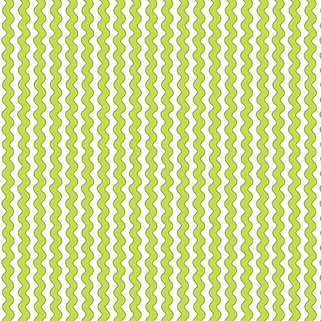 26429 H Lime Ric Rac Stripe Quilted Cottage