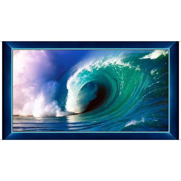 26751 B_Blue Wave Panel 24 inch Art Works IX