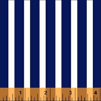 29396-2 Blue and White Stripes Windham Basic Brights
