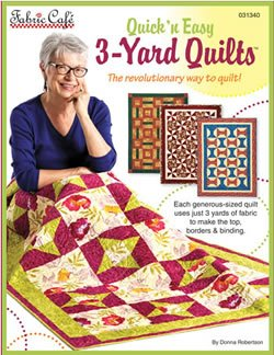3 Yard Quilts Quick n Easy Fabric Cafe