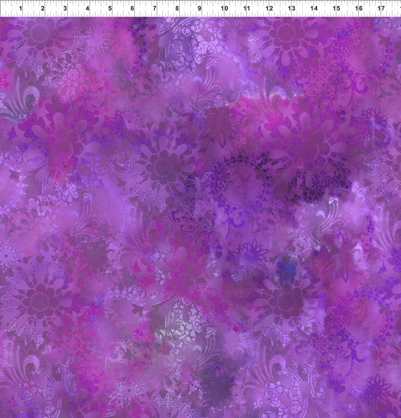4ENC-2 Amethyst Mystic Lace Diaphanous