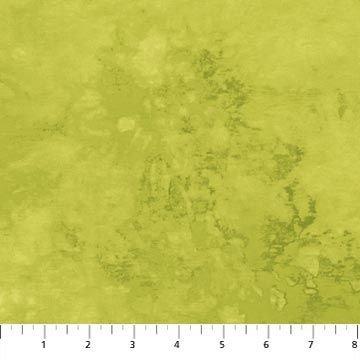 5073-71 Moss Green Blender Falling Leaves Artisan Spirit Northcott