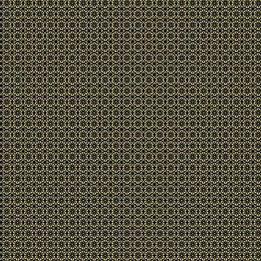 7720M-99 Black Foulard Gold Metallic Mixers