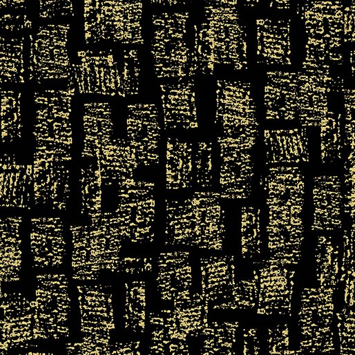 7733M-99 Black Bricks Gold Metallic Mixers