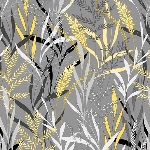 7738P-11 Gray_Yellow Pearl Willow Limoncello