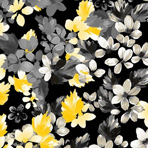 7742P-12 Black Bouquet Limoncello